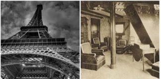 El apartamento secreto de la Torre Eiffel