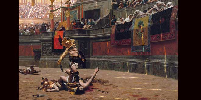 La crueldad de los espectáculos de la antigua Roma