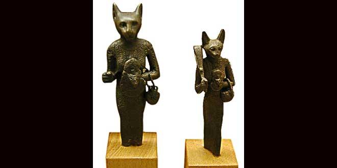 10 curiosidades sobre los gatos y el Antiguo Egipto