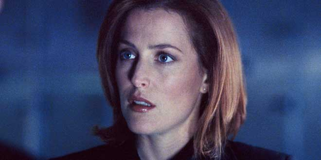 Gillian Anderson The X files