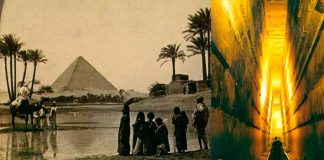 Descubierto un Mecanismo de defensa en la Gran Pirámide de Guiza