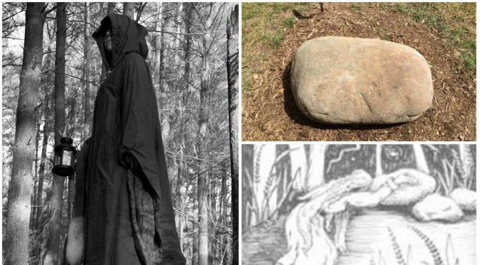 La maldición de Moll Dyer y sus huellas en la piedra
