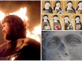 Las monjas que se cortaron la nariz ante un ataque vikingo