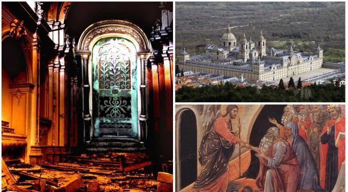 La entrada al infierno en ¿el monasterio de El Escorial?