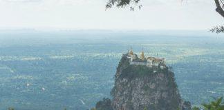 Taung Kalat: el monasterio que se encuentra en la cima de un volcán