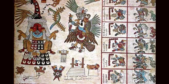 3 interesantes Códices Mexicas