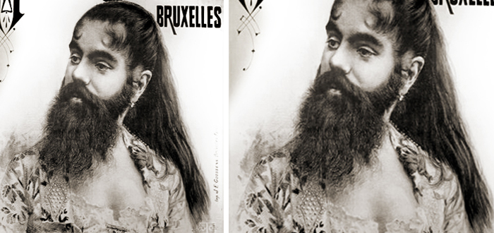Mujeres con barba, Annie Jones