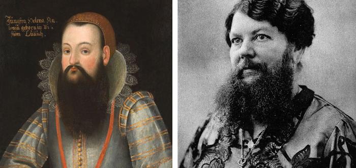 Mujeres con barba