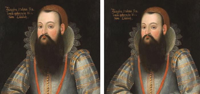 Mujeres con barba, Helena Antonia