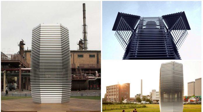 La Torre Traga-polución ¿Será la solución para el futuro?