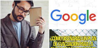 10 preguntas de entrevistas de trabajo de Google eliminadas por ser MUY difíciles. ¿Sabrías responder?