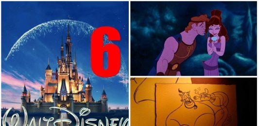 6 canciones Disney