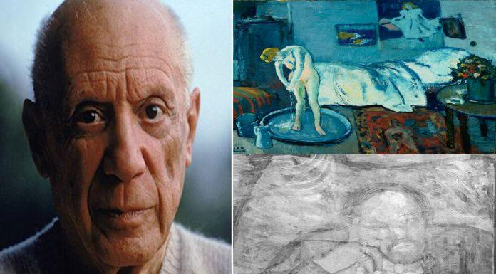 El hombre oculto en La Habitación Azul de Picasso