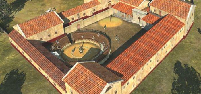 ¡Hallada una Escuela de Gladiadores! Descubre cómo era
