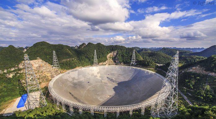 """El """"Ojo del Cielo"""", el radiotelescopio más grande del mundo"""