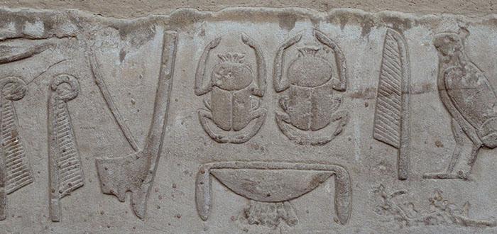 Escarabajo Antiguo Egipto