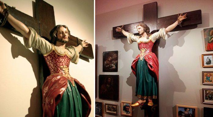 Wilgefortis o Librada, la santa con barba