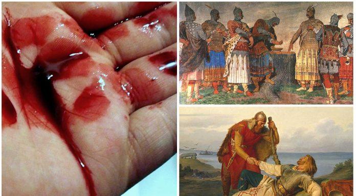 El misterioso ritual de los Hermanos de Sangre