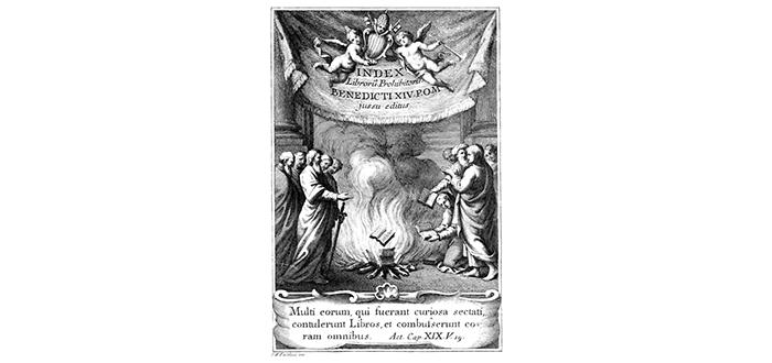 El Índice de Libros Prohibidos. Descubre qué incluía