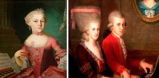 La hermana de Mozart era tan genial cómo su hermano, ¿sabes por qué dejó la música?