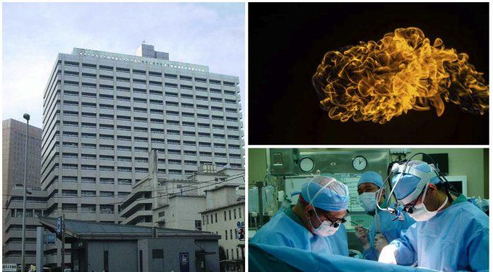 Un pedo incendia un quirófano en Tokio ¿Cómo es posible?