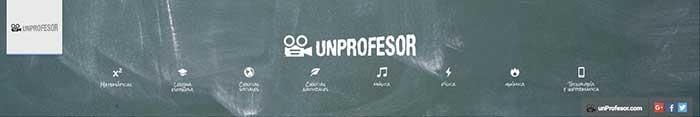 Canales de éxito en YouTube Un profesor