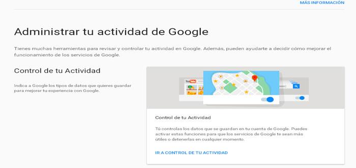 Eliminar lo que Google sabe de mí, ¿cómo puedo conseguirlo?
