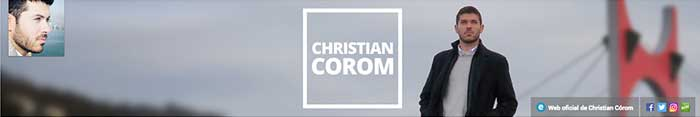 Los mejores canales de YouTube Christian Corom
