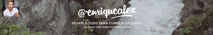 Los mejores canales de YouTube Enrique Alex