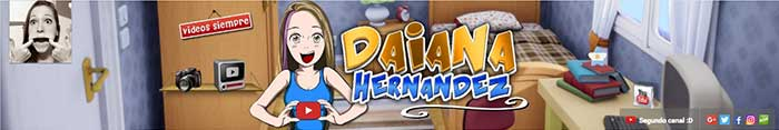 Los mejores canales de YouTube Auronplay Daiana Hernandez