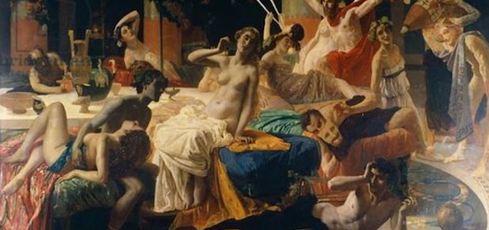 Orgía de Mesalina