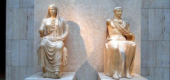 Livia y Tiberio