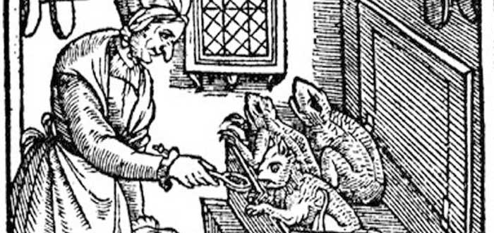"""Los Espíritus Familiares"""" de las brujas encarnados en animales domésticos"""