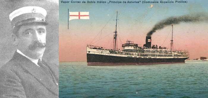 El hundimiento del vapor Príncipe de Asturias, el Titánic español