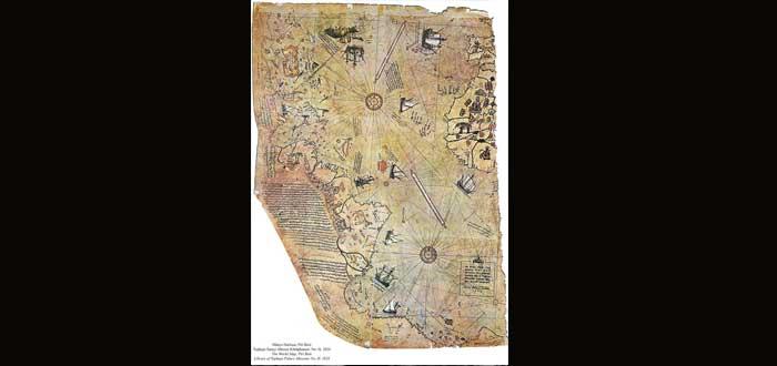 El enigmático mapa de Piri Reis ¿Una antigua civilización avanzada?