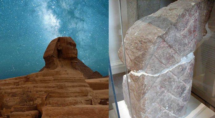 El misterio de la barba de la Esfinge de Gizeh
