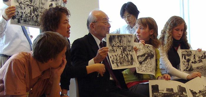 Superviviente de la bomba de Nagasaki comparte su experiencia