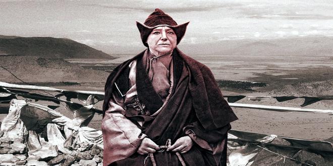 La primera mujer que exploró el Tíbet