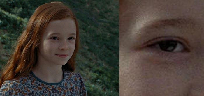 Lilly Potter, color de ojos, diferencias entre las películas y los libros de Harry Potter