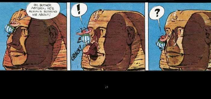 ¿Qué le ocurrió a la nariz de la Esfinge?