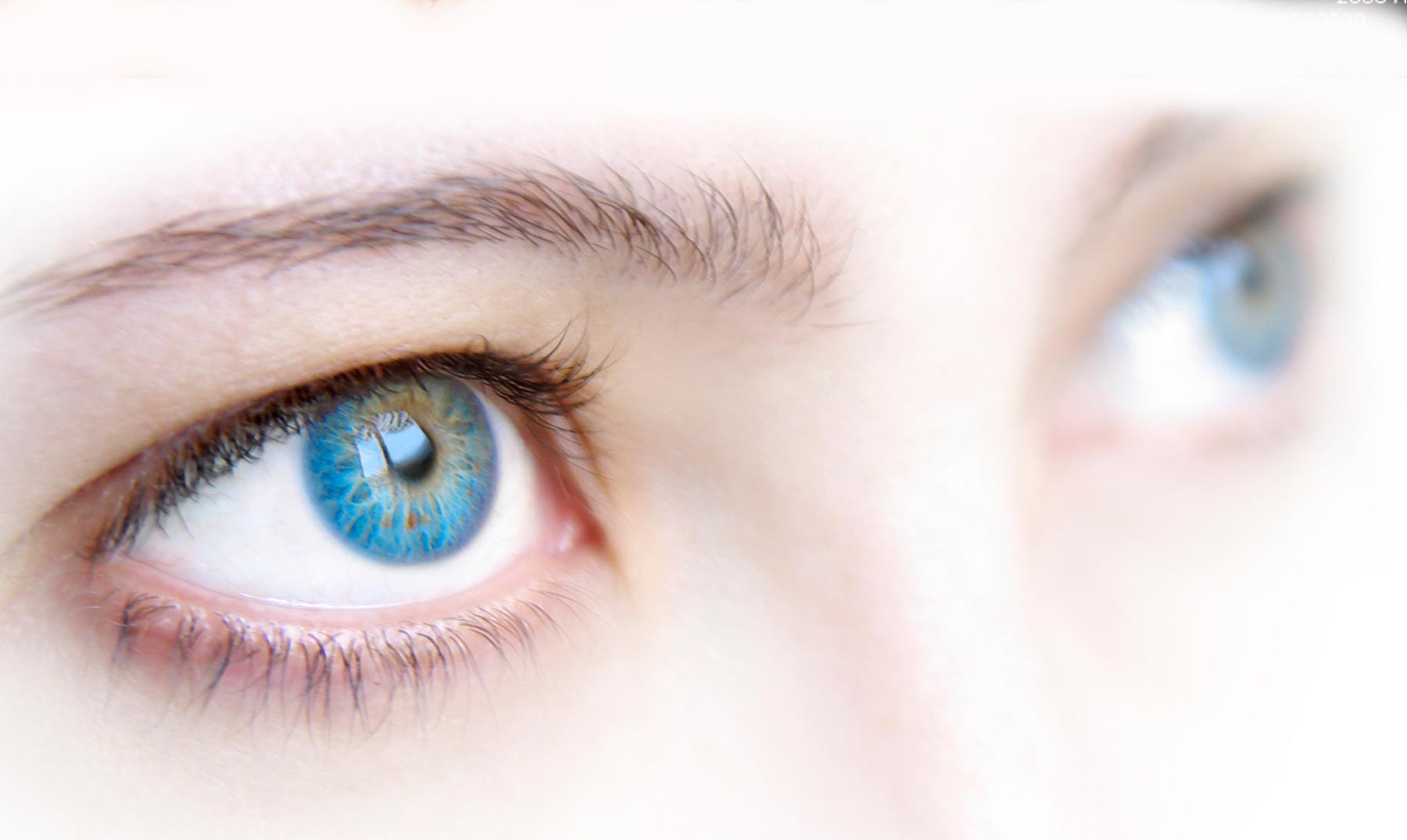 Tienes los ojos azules? En realidad, son marrones