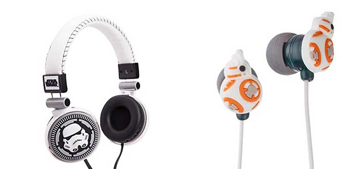 Auriculares de Star Wars