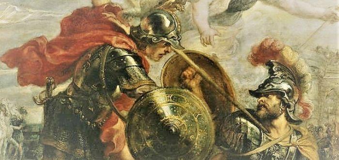 guerreros de la mitología griega