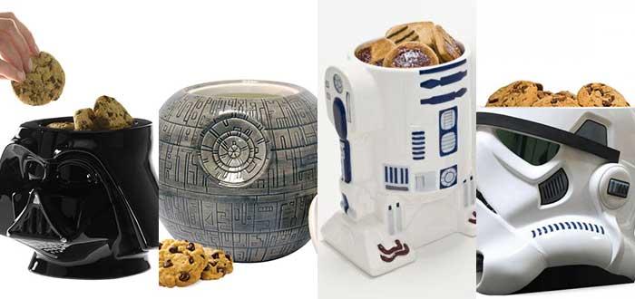 Botes cerámicos galletas Star Wars