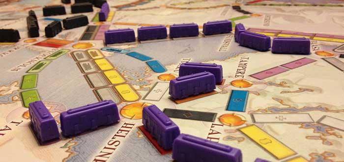 Juegos de mesa, Aventureros al tren