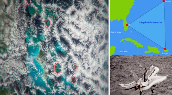 ¿Pueden unas nubes hexagonales resolver el misterio del Triángulo de las Bermudas?