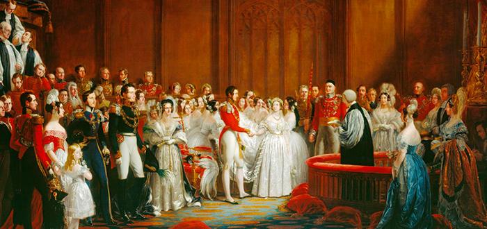 Boda de la Reina Victoria