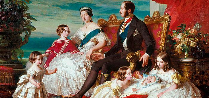 Familia de la Reina Victoria