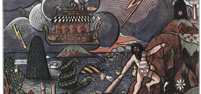 amalivaca, la historia de los indigenas venezolanos sobre el diluvio universal