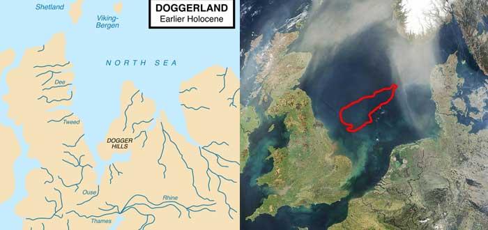 Doggerland, la tierra habitada que se hundió y aisló Gran Bretaña